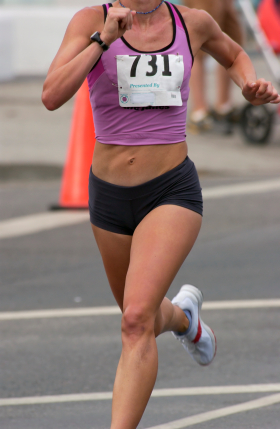 Gold Coast Marathon runner