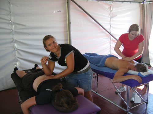 Members of the Active Body Therapies massage team